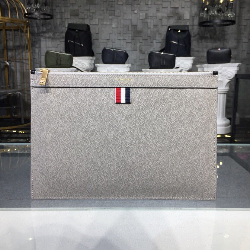 thom browne small tablet clutch