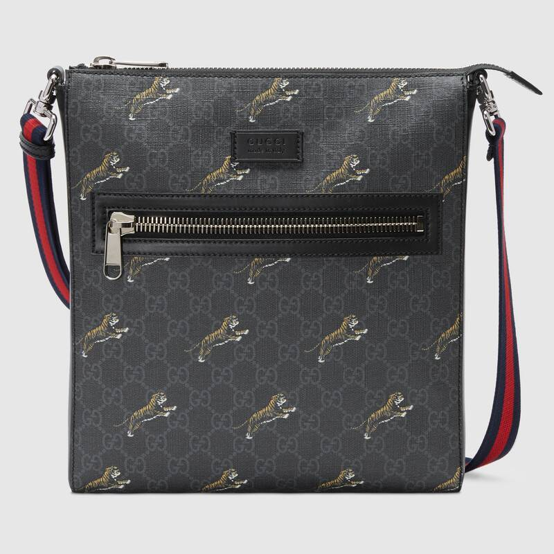 Gucci Bestiary messenger with tigers G474137