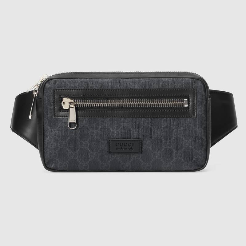 Gucci GG black belt bag 474293