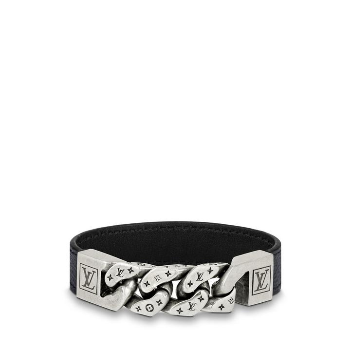 louis vuitton monochain reverso bracelet M6552
