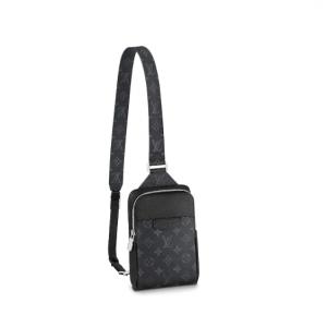 louis vuitton outdoor slingbag m30741 taigarama noir black
