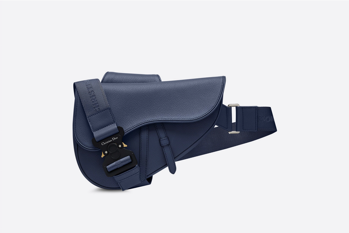 Dior Saddle Bag Blue