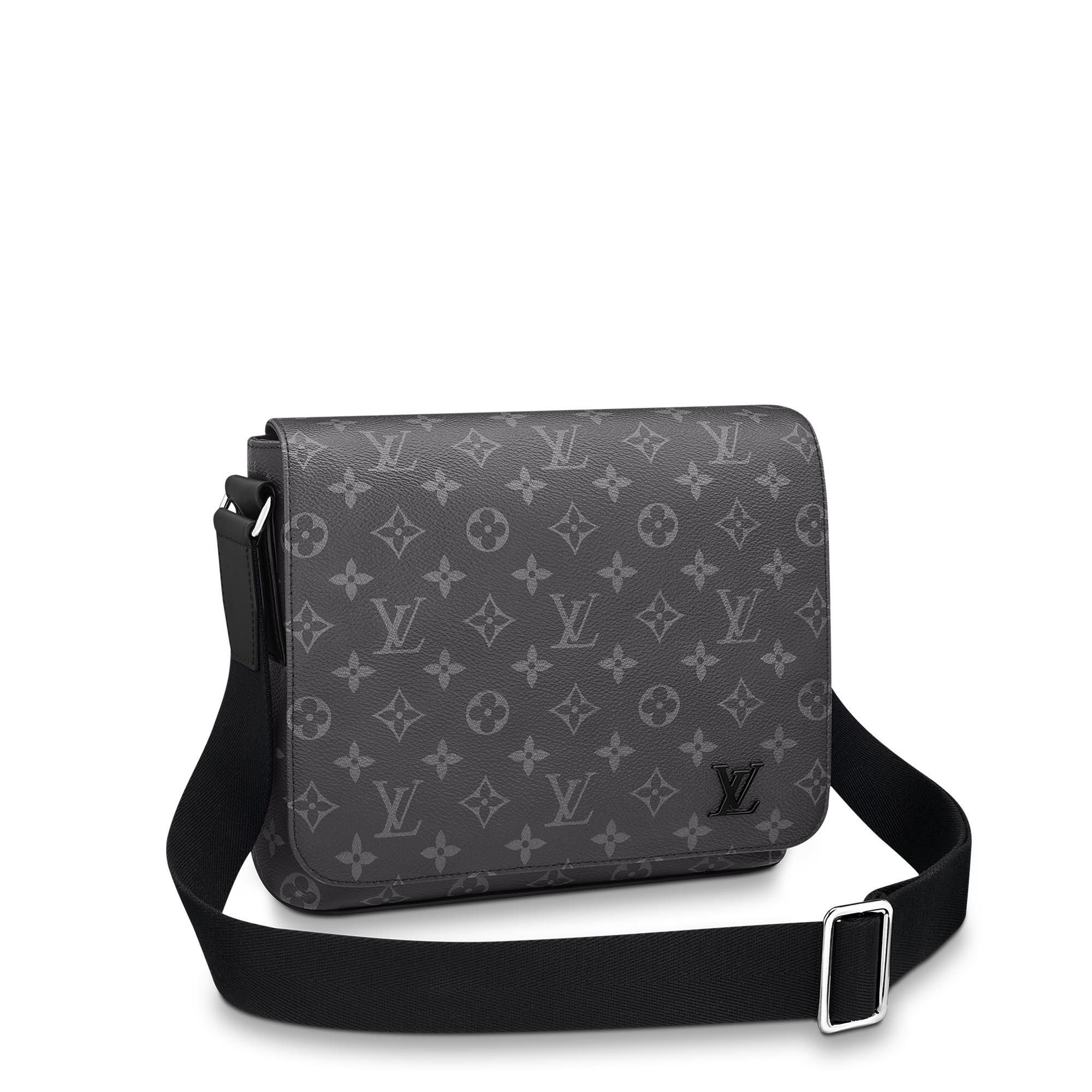 Louis Vuitton District PM Monogram Eclipse Canvas M44000 M44001