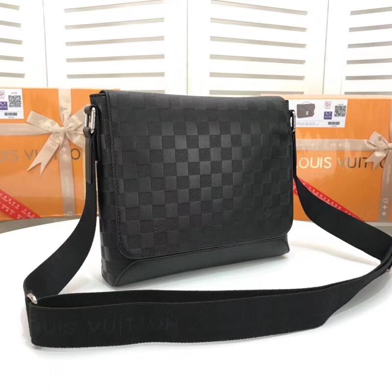 Louis Vuitton District PM Damier Infini leather bag N41034 N41286