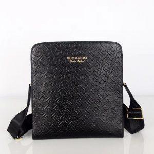 Burberry Messenger Monogram leather Crossbody bag