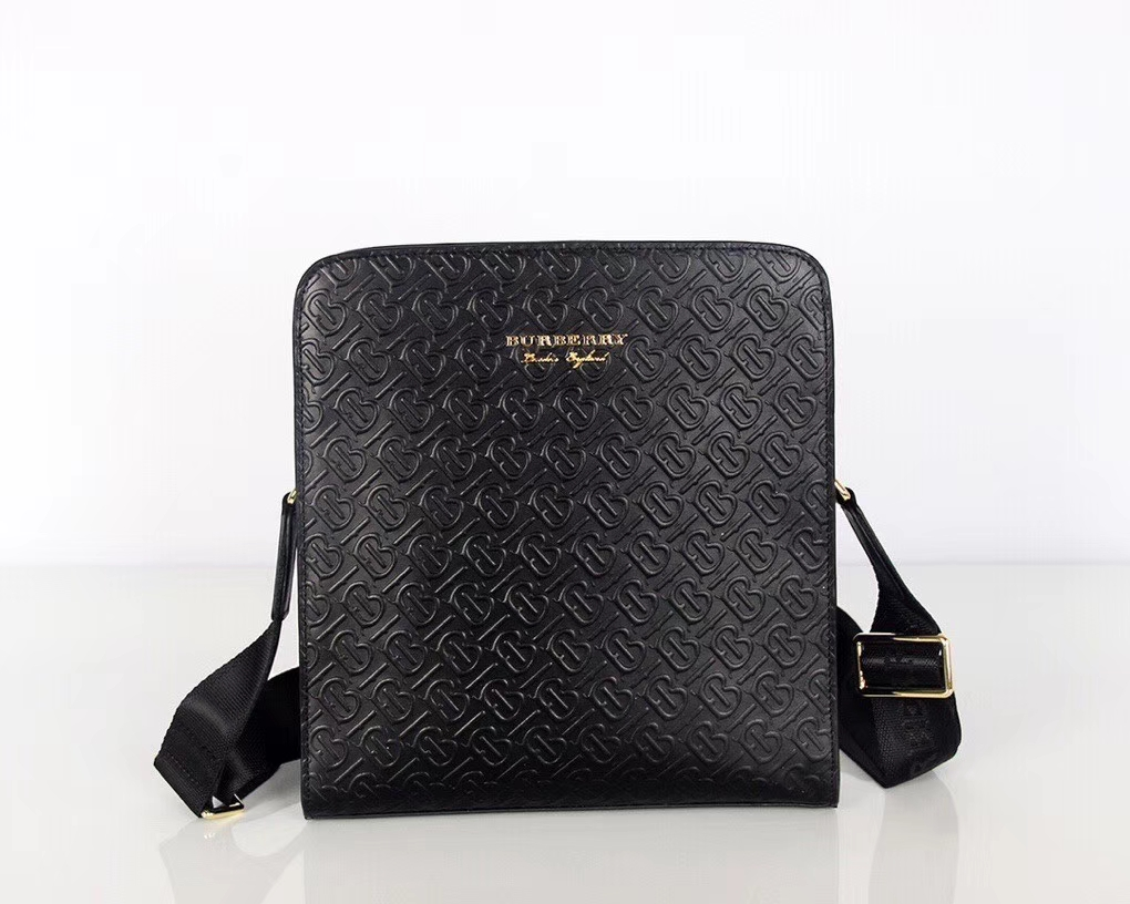 Burberry Messenger Monogram leather Crossbody bag