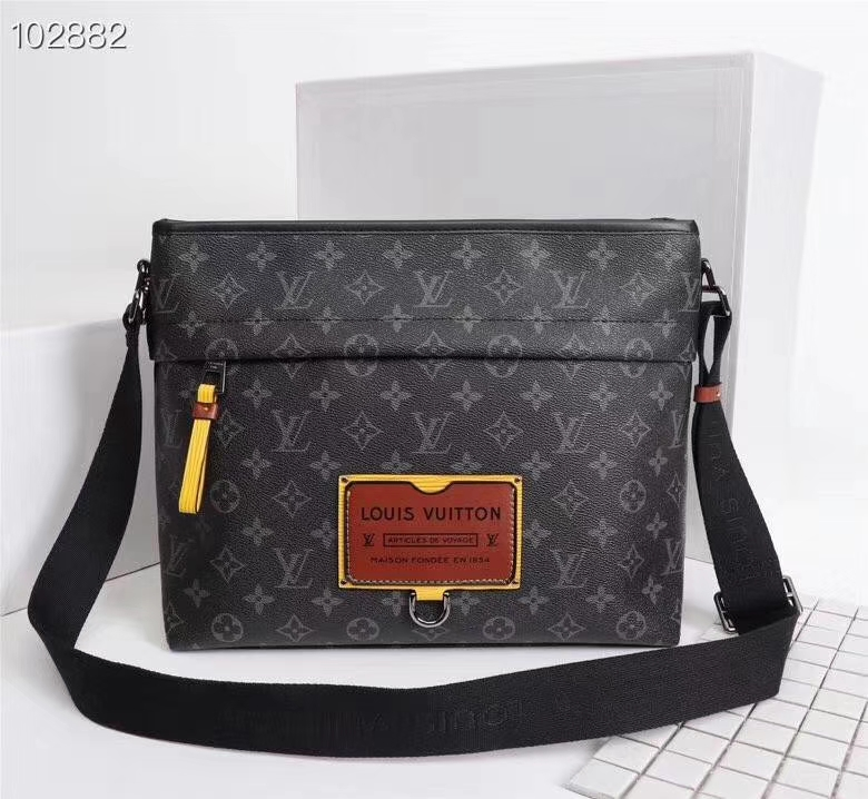 Louis Vuitton Besace Zippée MM M45214 M45216 Monogram
