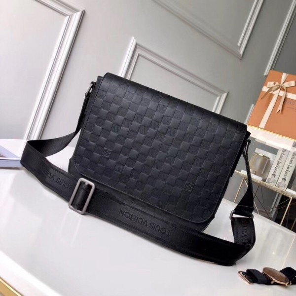 Louis Vuitton District PM Damier Infini leather bag N41034 N41286